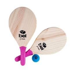 Kit Frescobol Raquete Praia ou Kit Bets - Belfix Novo