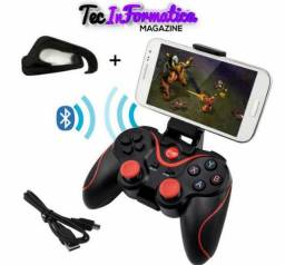 Controle Gamers Celular Joystick Bluetooth Android Free Fire