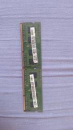 Vendo duas memoria de notebook smart