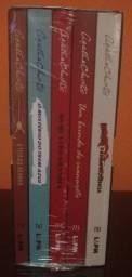 Box Agatha Christie Lacrado com 5 livros