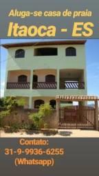 Casa de Praia Aluguel Temporada - Praia Itaoca - ES