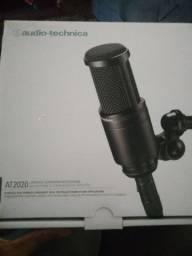 Microfone condensador,audio-tecnica