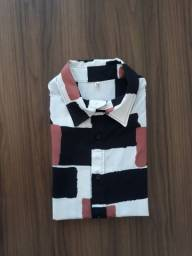 Camisa estampada M