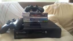 Xbox 360 usado e funcionando bem(bloqueado)