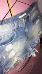 Short jeans denim zero!