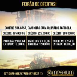 COMPRE AGORA SUA CASA, CAMINHÃO OU MÁQUINA AGRÍCOLA!!!!