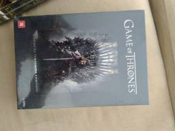 Box Game Of Thrones 1ª temporada novo lacrado