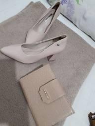 Combo Sapato e Carteira Arezzo