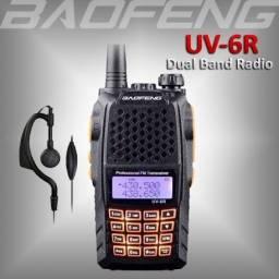 Radio Baofeng Uv6r 7w Ht Walk Talk Uhf Vhf Fm Original