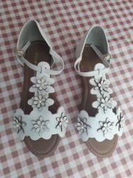 Sandália de  couro Melissa
