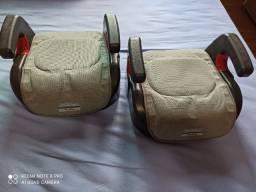 Assento de Elevação Burigotto Protege - para Crianças de 15kg até 36kg Preto e Bege
