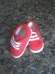 Sapato infantil unissex feminino e masculino