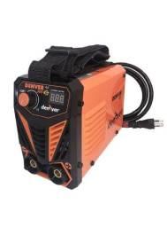 Maquina De Solda Com Tocha Inversora Mini Mma e Tig 120a 110V