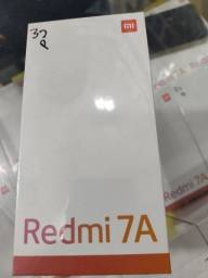 Baratinho em liquidação. Redmi 7A 32 da Xiaomi. Novo Lacrado com garantia e entrega