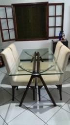 Cadeiras acolchoadas