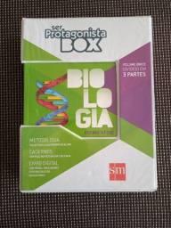 Biologia - Ser Protagonista Box (Volume Único) novo com desconto!