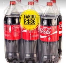 Promoção coca cola 6 reais cada
