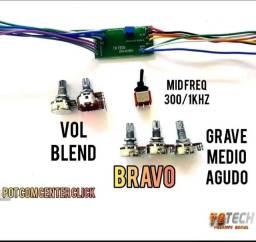 Circuito contrabaixo Tech Bravo (NUNCA USADO)