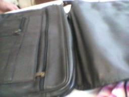 Bolsa couro masculina bagagio