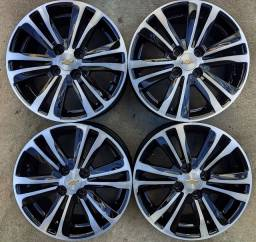 Rodas aro 15+4 pneus 195/55 R15 Goodyear!(2.350$ até 10x sem juros no cartão)