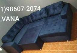 Sofá de canto c espaço e conforto.R$1899!!!