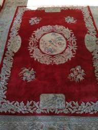 Tapete persa vermelho