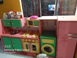 Cozinha infantil completa MDF  Com acessórios