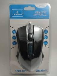 Mouse lehmox game ley 26 gamer - Produto Novo!