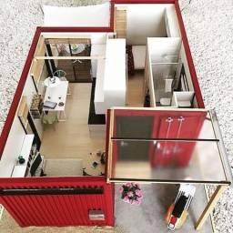 Casas Residenciais e Lojas em Container