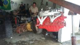 Kit motor para jeep trilha maverick falcon 3.6
