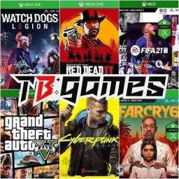Oferta em jogos para xbox one, são 300 jogos disponíveis!