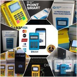 Máquinas de cartão Aparti de 20 reais