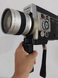 Filmadora Canon auto zoom vintage LEIA