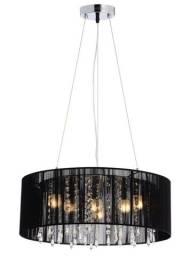 Pendente Rammer 50cm Circular 6 Lamp novo