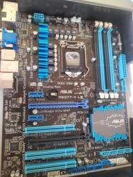 Placa mãe Asus Intel 1155 P8z77  *LEIA*