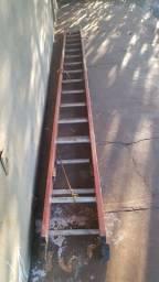 Escada extensiva  de fibra  de vidro 16 degraus