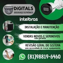 Instalalação e manutenção de Câmeras CFTV / Empresa com CNPJ / Loja física