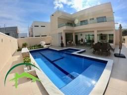 Belíssima Casa no Condomínio Ponta Negra 1, com 4 suítes, 100% Mobiliada, Tudo de primeira