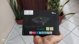 Tx9 Original Tânix 64 GB ROM + 08 RAM Brinde 03 Meses TV Online