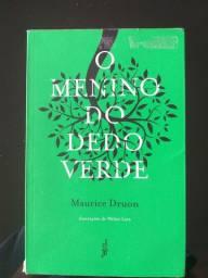 Livro O menino do dedo verde (ISBN *3222)
