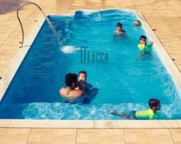 HM Promoçao piscina nova de fibra ,modelo com prainha 7m X 3m altu:1,30m sem instalação