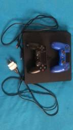 Ps4 Slim 1Tb, 2 Controles