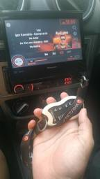 DVD Pioneer troco em CD player original Gol G6