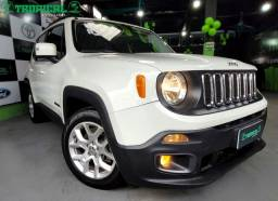 Jeep Renegade Longitude - 1.8 Flex Auto Couro - Branco - 2016