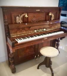 PIANO IMPECÁVEL - Alemão - Raro e totalmente restaurado