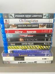 DVDs e filmes blueray originais