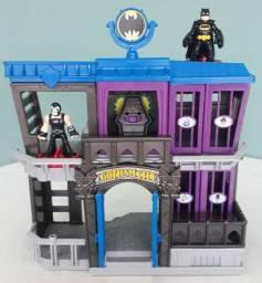 Casa do Batman. Prisão de Gotham City. Imaginext. DC Super Friends. Fisher Price