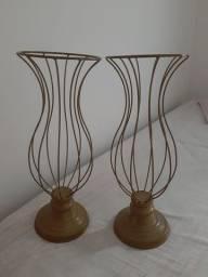 Kit Vasos de Ferro 45cm