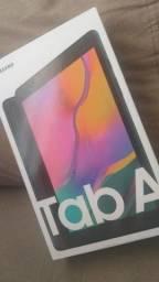 Tablet da Samsung na caixa