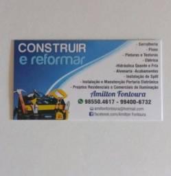 Construir, reformar e pequenos reparos residências